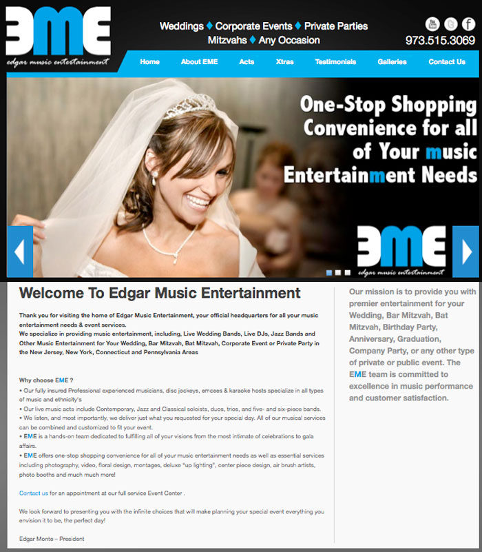 Edgar Music Entertainment- EMEMusic.biz