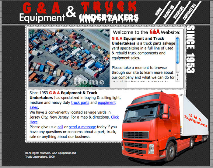 G and A Truck Undertakers- GandATrucks.com