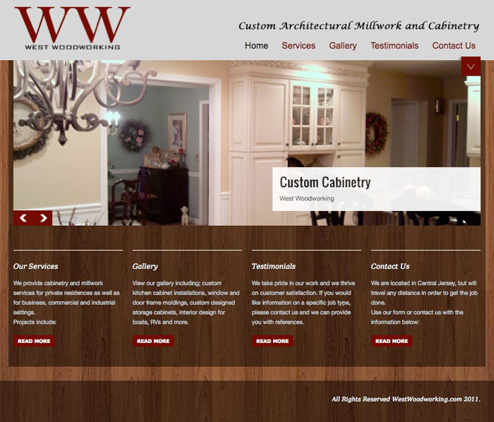 West Woodworking- Custom-Cabinets-NJ.com